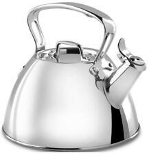 All Clad 2 Quart Stainless Steel Tea Kettle Kitchen Tea Pots Party