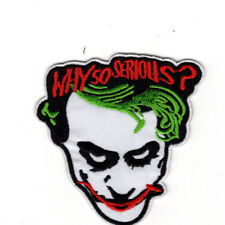 "Batman Joker ""Why So Serious?"" Patch 3 1/2 inch"