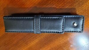 Montblanc leather case, pen pouch. NEW