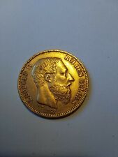 20 frs OR 1867 Léopold II