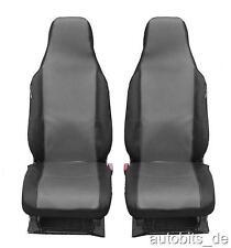 2 x Auto Sitzbezug Sitzbezüge Schonbezüge Schonbezug Einteilig Grau für