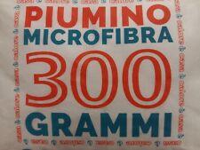 Piumino microfibra MATRIMONIALE INVERNALE 300 GR./MQ 250X200 BIANCO