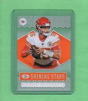 2020 Panini Illusions Patrick Mahomes  Shining Stars ORANGE Parallel #SS3 Chiefs