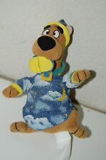 "Cute Vintage Scooby-Doo Stars Moons Wizard Cap & Pajamas 8"" Stuffed Plush Animal"