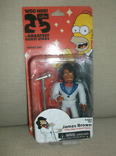 THE SIMPSONS 25 OF THE GREATEST GUEST STARS ACTION FIGURE SERIES 1 JAMES BROWN