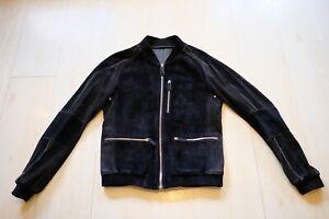 Bally Lambskin Suede Jacket UK 38 EU 48