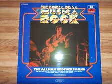 (SPAIN PRESS) ALLMAN BROTHERS BAND HISTORIA DE LA MUSICA ROCK LP (1982) GREGG