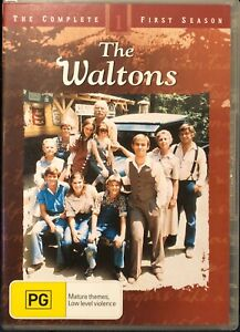 The Waltons: The Complete First Season 1 (DVD, 2012) Region 4