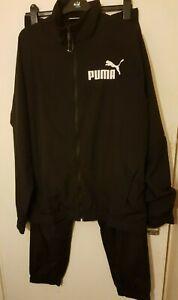 Puma,Mans Tracksuit, Color: Black, Size: UK-L, New