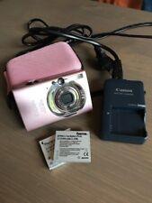 Canon IXUS 80 IS 8.0MP Digitalkamera Rosa, mit viel Extras