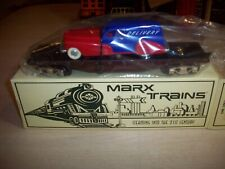 Marx MODERN #7301 SEABOARD O-Scale Flatcar  RED/BLUE SEDAN DELIVERY OB C10 NEW
