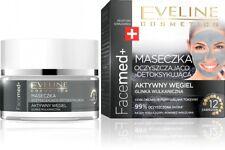 EVELINE Facemed+ maseczka z aktywnym węglem/ Face mask with active carbon