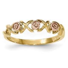 Anelli di lusso in oro rosa da 10 carati