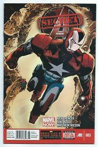 """""""Marvel Secret Avengers Rare Newsstand Variant Edition Issue #003"""" 2013, Spencer"""
