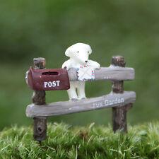 Miniature Fairy Mailbox Terrarium Accessories (USA SELLER FAST SHIPPING)