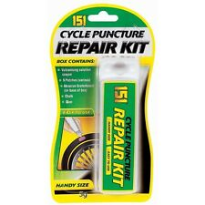 151 Repair Kit Bicycle Bike Inner Tube Tyre Puncture Weldtite Patches Chalk Glue
