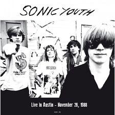 Sonic Youth - Live in Austin 1988 NEW SEALED LP! 180g VINYL!