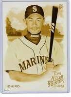 Ichiro 2019 Allen and Ginter 5x7 Gold #60 /10 Mariners