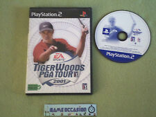 TIGER WOODS PGA TOUR 2001 / EA SPORT PS2 PLAYSTATION 2 SONY COMPLET PAL