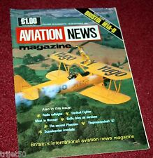 Aviation News Magazine 16.11 Scilly Isles,Bristol M1A,Tactical Fighter Meet