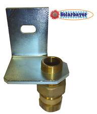 Soporte de pared con válvula de Tapón para depósito de expansión 3/4''