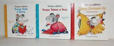 NEW TOOPY AND BINOO 3 BOARD BOOKS TOOPY TELLS  STORY - TAKES A NAP - DRESSES UP