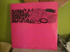 SONIC YOUTH LP DEATH VALLEY ORIGINAL USA HOMESTEAD RECORDS LP
