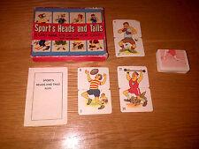 Vintage con rare Sports Estremità Mix and Match Gioco di carte completo in buonissima condizione
