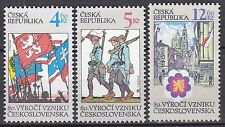 CZECH REPUBLIC 1998**MNH SC# 3058-3060 Czech Republic