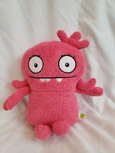 "Ugly Dolls Moxy Pink Plush Hasbro 9"""