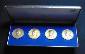HANK AARON COBB CY YOUNG WALTER JOHNSON CORINTHIAN MINT BRONZE MACO ROUND COINS