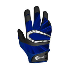 NEW Youth Cutters Rev Pro S450 Football Receiver Gloves Royal Size Youth Small
