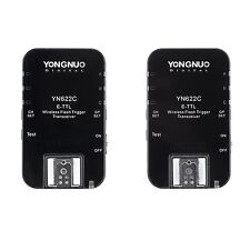 Yongnuo Wireless TTL Flash Trigger YN-622C for CANON set Radio Trigger 1/8000s