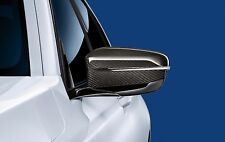 Genuine BMW Left Passenger Side NS Mirror Cover Cap Carbon RHD G11 51162365977