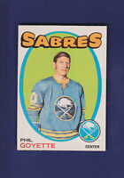 Phil Goyette 1971-72 O-PEE-CHEE Hockey #88 (VG)