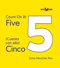 Five / Cinco (Bookworms: Count on It!/ Cuenta Con Ello!)-ExLibrary