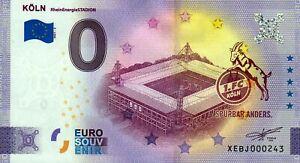 Null Euro Schein - 0 Euro Schein - 1. FC Köln - RheinEnergieStadion 2021-3