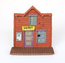 MINI FIGURINE EN PLOMB LUCKY LUKE PLASTOY 2007 LE BUREAU DU SHERIFF 10 CM