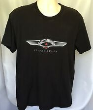 Harley Davidson Fat Boys Rule T Shirt San Diego California Short Sleeve SZ L Bla
