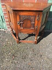 CARVED OLD CHARM SALL CABNET