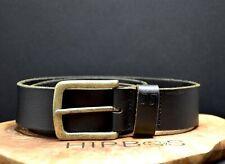 Jack & Jones Vintage Mens Leather Belt Black Size 32