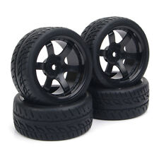 1:10 On-Road Car HPI 4 Pcs RC Flat Drift Tires Wheel Rim Hub  PP0072+PP0150