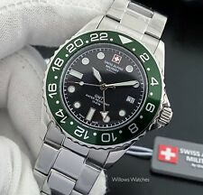 Swiss Alpine Military Mens GMT 10ATM Watch 7052.1133SAM Brand New - Sale Price
