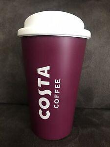 Official Costa Coffee Tea Travel Reusable Cup Mug Tumbler