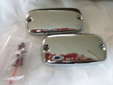 HONDA VALKYRIE 1997 THRU 2003  CHROME MASTER CYLINDER COVERS SET           2-288