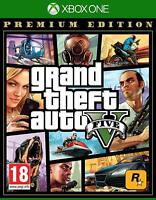 GRAND THEFT AUTO V / GTA V 5 XBOX ONE DRIVING RACING GAME NEW PREMIUM EDITION