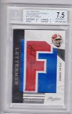 2011 Panini Prestige Julio Jones Rookie Letterman Autograph card! RARE!