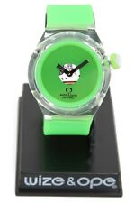 Wize & Ope Good Ghost Transparent And Green Analog Wrist Watch Hot Topic Retro