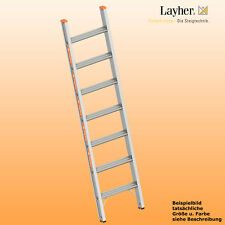 Layher Alu Stufenanlegeleiter,  Leiter 7 Stufen,  L=1,80m,Topic Typ 1042.007