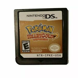 Pokemon Heartgold Version Nintendo DS 2010 Authentic & Tested Game Only